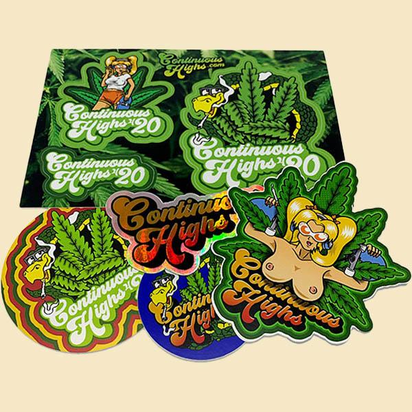 weed sticker pack