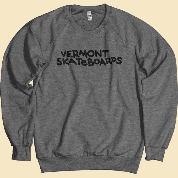 Vermont skateboards crewneck sweatshirt