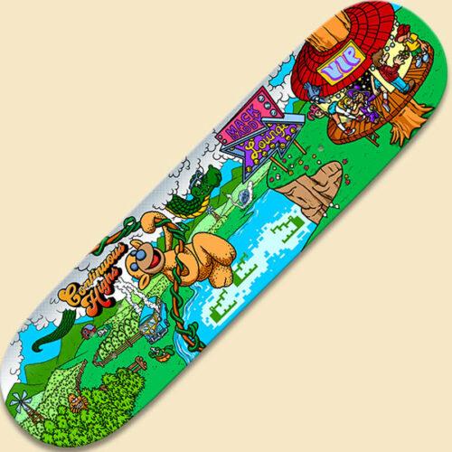 Pitfall Skateboard Deck