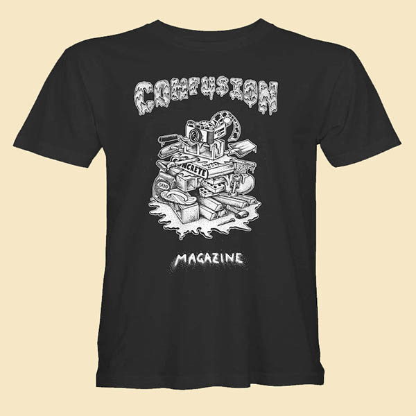 confusion rubbish heap t-shirt
